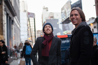 Photo: Peter and Jeff in NYC (photo by Spyr Media)