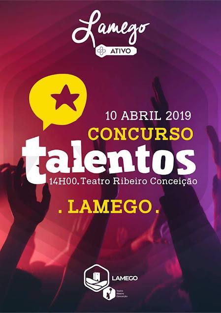 1º Concurso de Caça Talentos Sénior - Lamego - 10 de abril de 2019