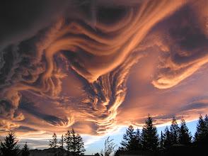 Photo: Asperatus Cloud, New Zealand An amazing shot taken off the deck of a rental home in Hanmer, NZ. Maybe it is an Undulatus cloud?  http://news.nationalgeographic.com/news/2009/06/photogalleries/new-cloud-pictures/#/asperatus-cloud-new-zealand_9627_600x450.jpg
