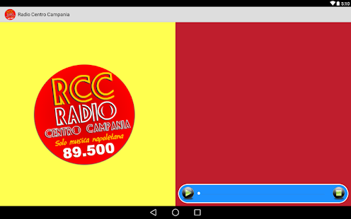 Radio Centro Campania- screenshot thumbnail