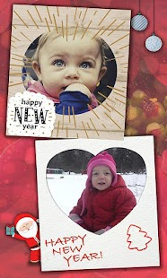 Christmas & New Year Frames - náhled