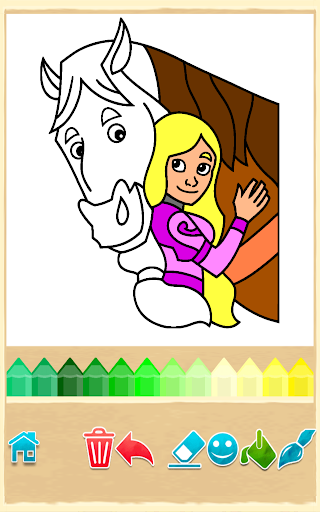 Princess Coloring Game  screenshots EasyGameCheats.pro 3
