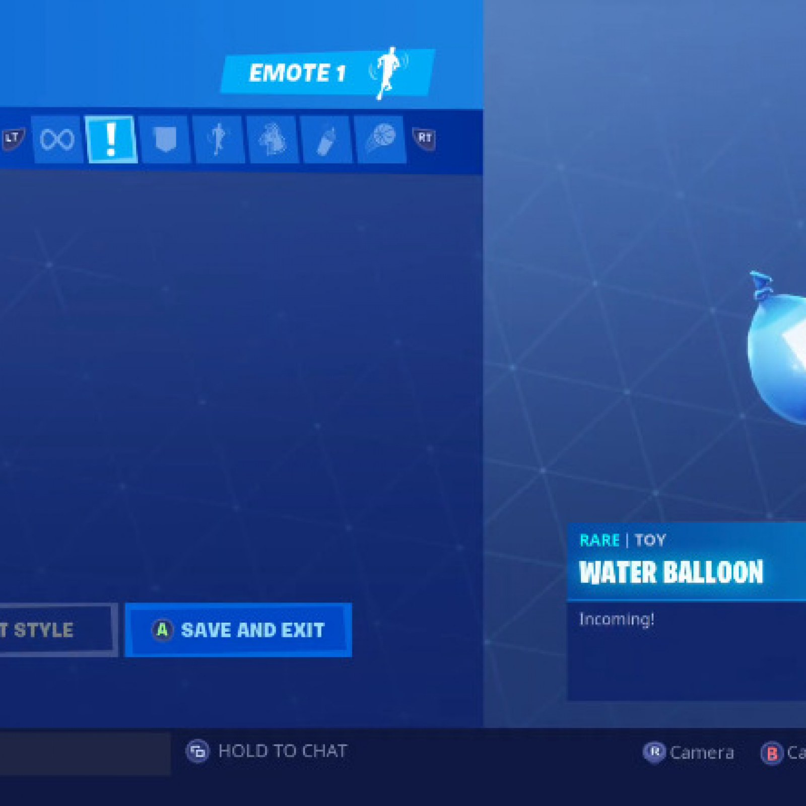 Water balloons in fortnite
