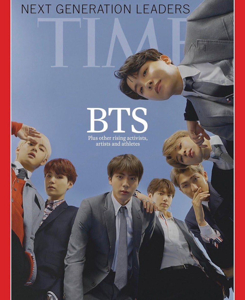 bts time magazine cover