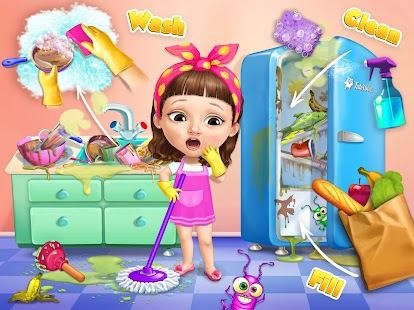 Sweet Baby Girl Cleanup 5 - Messy House Makeover- screenshot thumbnail