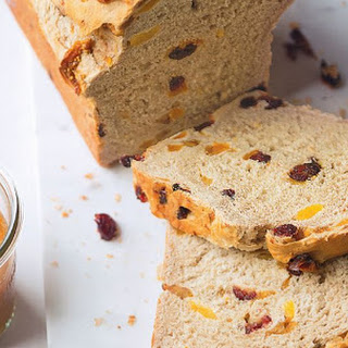 Fruit Loaf With Apple Butter