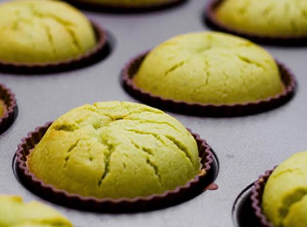 Matcha Green Tea Mochi Cupcakes Recipe