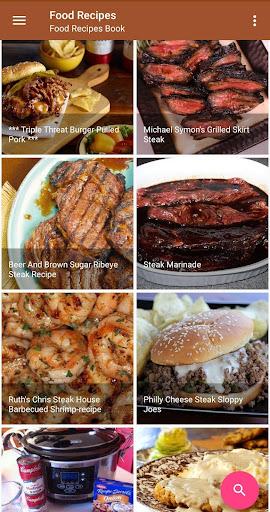 Screenshot 1 Food Recipes Book