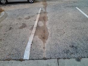 Photo: Parking Lot Saw Cut 10-17-2013