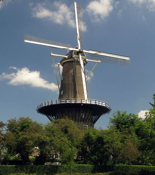 Windmill museum De Valk