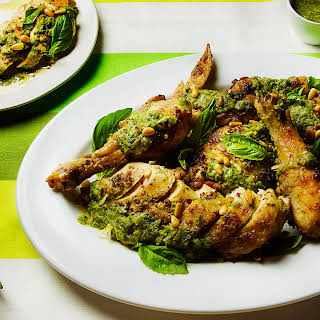 Chicken Genovese (Pesto-Roasted Chicken).