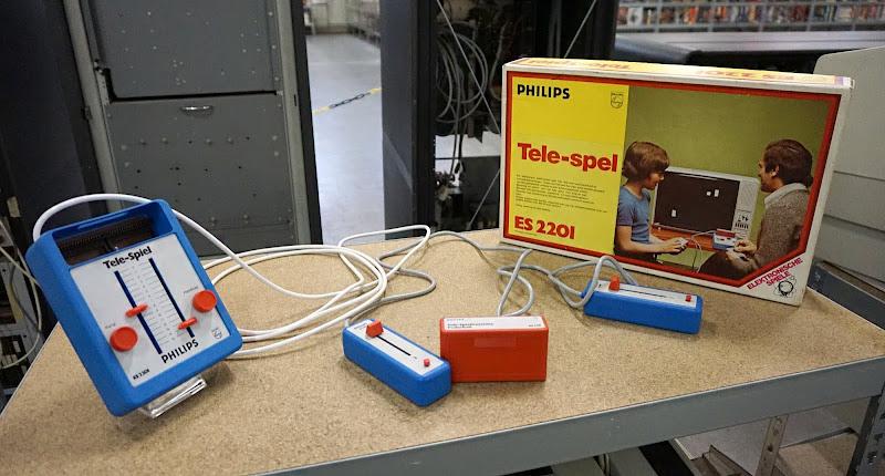 PONG tentoonstelling in het Bonami SpelComputer Museum in Zwolle