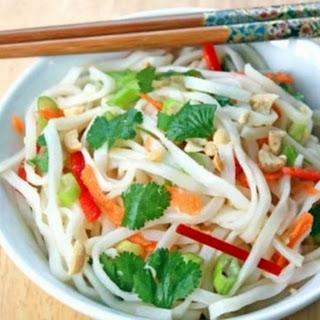 Delicous Vietnamese Rice-Noodle Salad