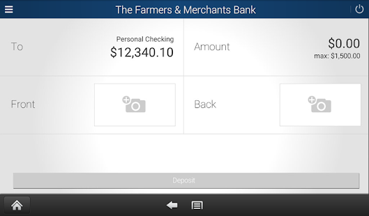 The Farmers & Merchants Bank- screenshot thumbnail