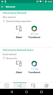 HPE OfficeConnect Wi-Fi Portal - náhled