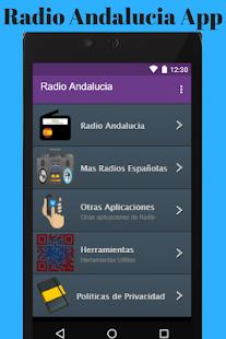 Radio Andalucia App - náhled