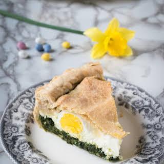 Torta Pasqualina – Italian Easter spinach tart.