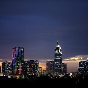 Night night by Beh Heng Long - City,  Street & Park  Skylines ( saigon )