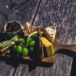Cheese board by Tamas Makara - Food & Drink Meats & Cheeses ( #, #cheese )