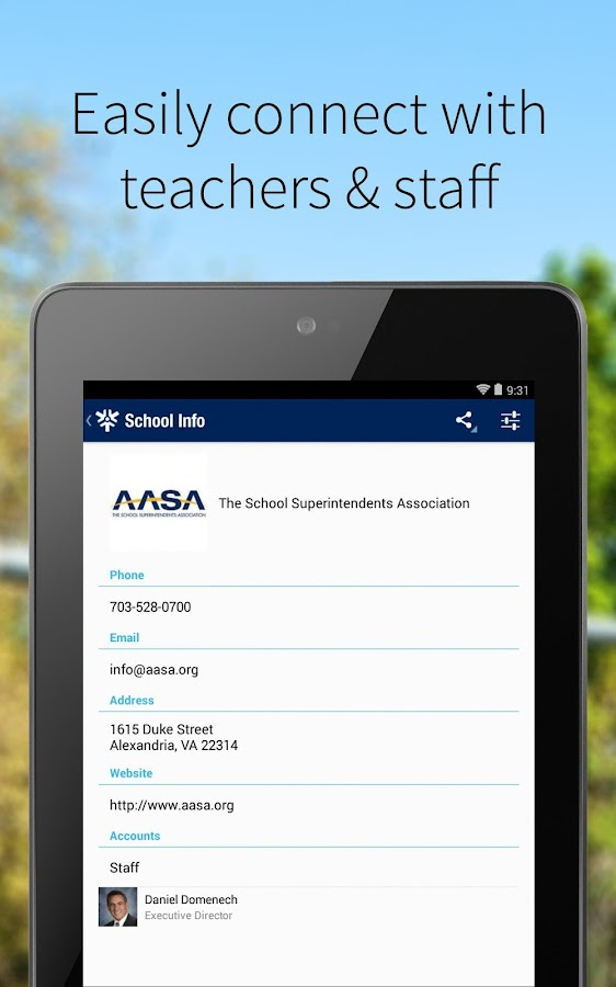AASA, The School Superinten...- screenshot