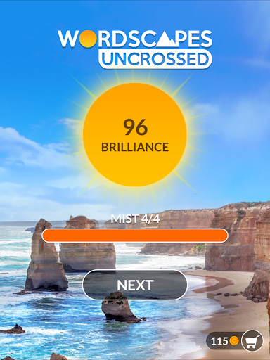 Wordscapes Uncrossed - screenshot