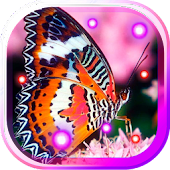 Flowers and Butterflies LWP