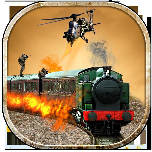 列車の攻撃:ガンシップ戦争 動作 LOGO-玩APPs