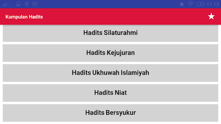 Kumpulan Hadist Shahih Lengkap Apk Download Com Tkzapps