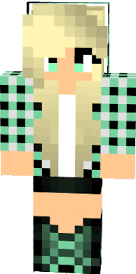 Gamer nova skin - Cool girl skins for minecraft pe ...