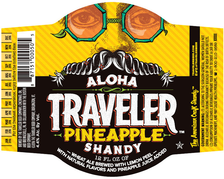 Logo of Traveler Aloha Traveler Pineapple Shandy