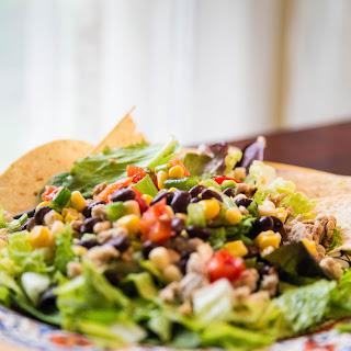 Black Bean Taco Salad.