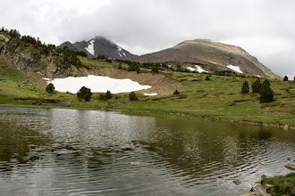 Photo: Capcir:  Puig Peric i Petit Peric des de l'estany de l'Ànec