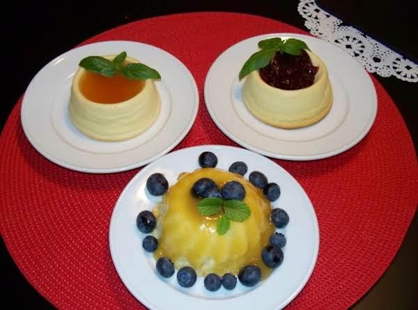 Mini Cheese Cake Tarts With Sugar Free Preserves Recipe
