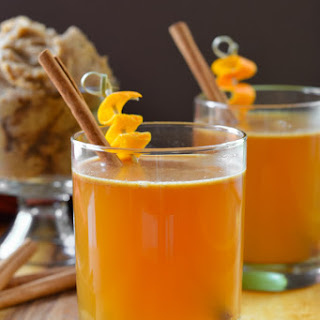 Hot Apple Cider Buttered Whiskey Recipe