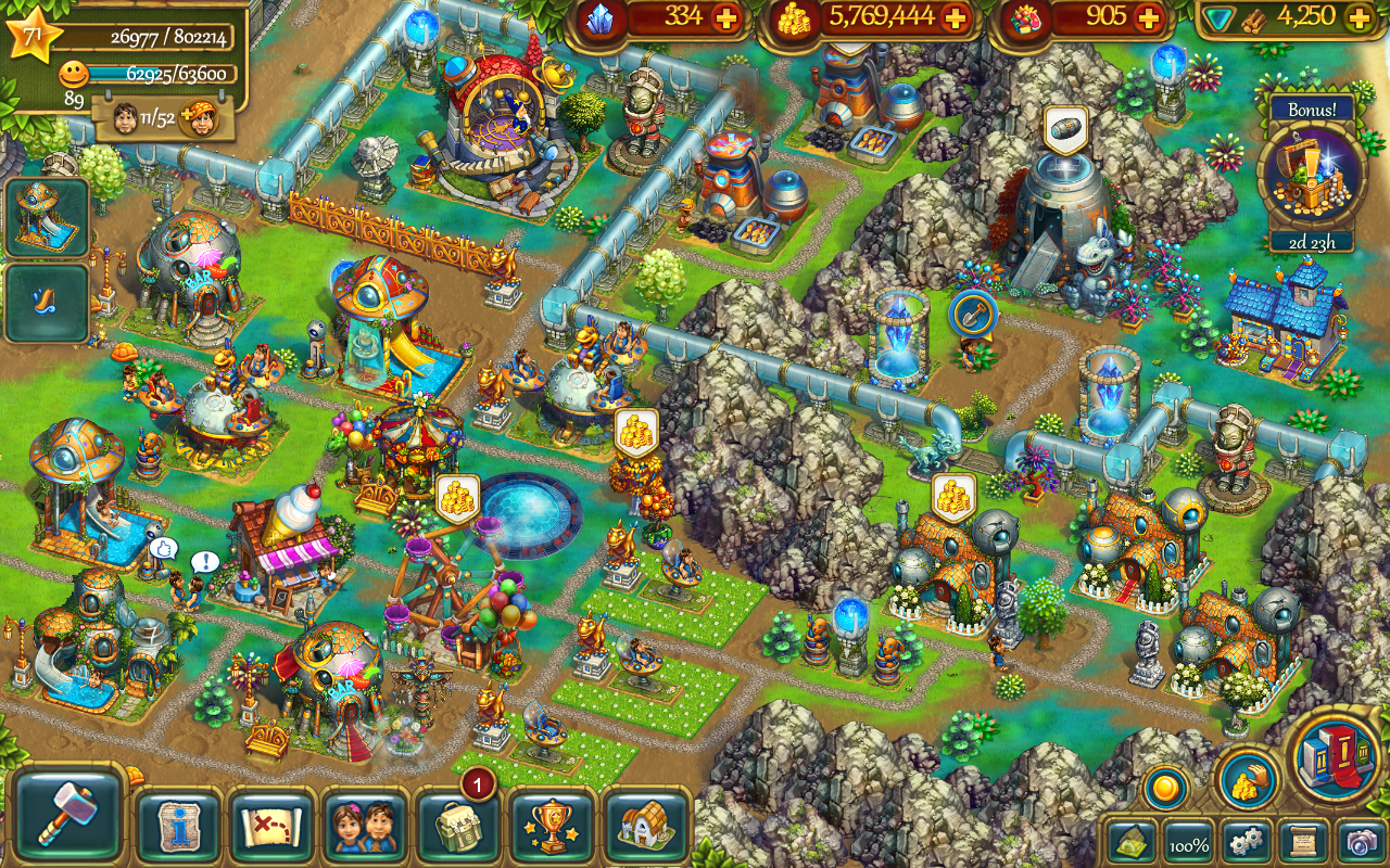 The Tribez- screenshot