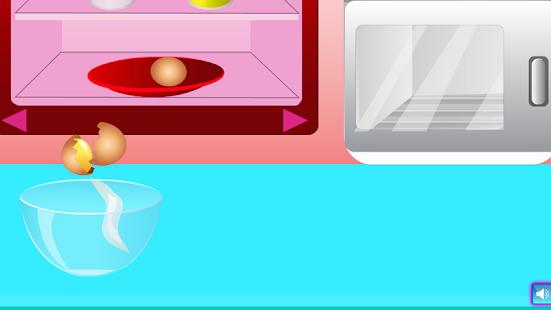 dívky vaření hry cupcakes - náhled