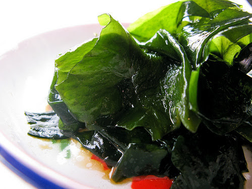marinated kelp