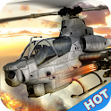 Gunship Helicopter:Air battle icon
