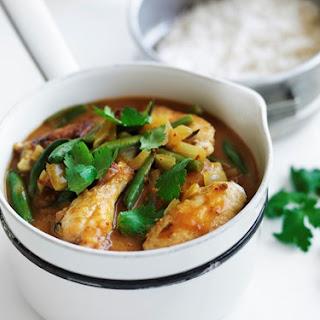 Peri Peri Coconut Chicken Curry.