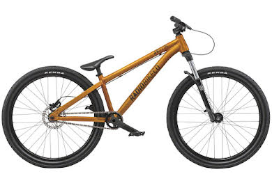 "Radio 2019 Griffin Pro 26"" Complete Dirt Jump Bike 22.8"" TT Translucent Gold"