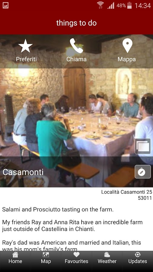 Taste Chianti- screenshot