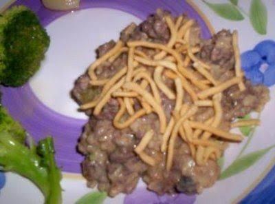 Chow Mein Casserole Recipe