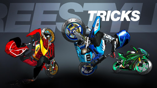 Stunt Bike Freestyle fond d'écran 1