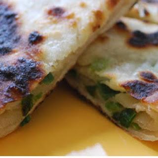 Scallion Pancakes I.e. Green Onion Pie.