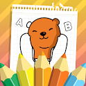 Coloring Games for Kids – Learn letters icon