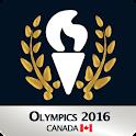 Olympics 2016: Canada Olympics icon