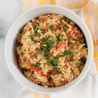 Spicy Seafood Jambalaya.