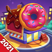 Cooking World: My cafe' Casual Cooking Games Diary MOD APK 2.1.3 (Unlimited Money)