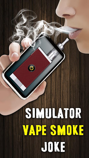Simulator Vape Smoke Joke