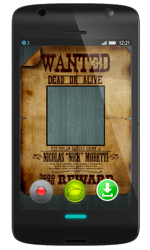 Wanted Poster Photo Montage